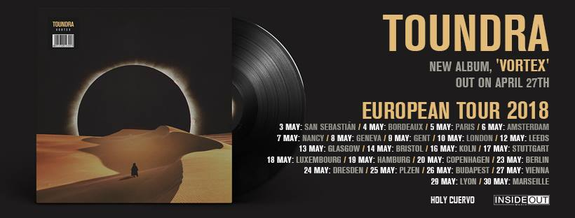 TOUNDRA. Nuevo album y gira porEuropa.