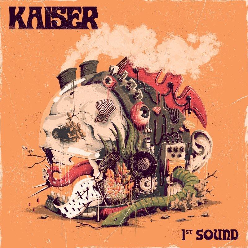 kaiser-1st-sound-solid-orange-lp-kozmik-mailorder-ed