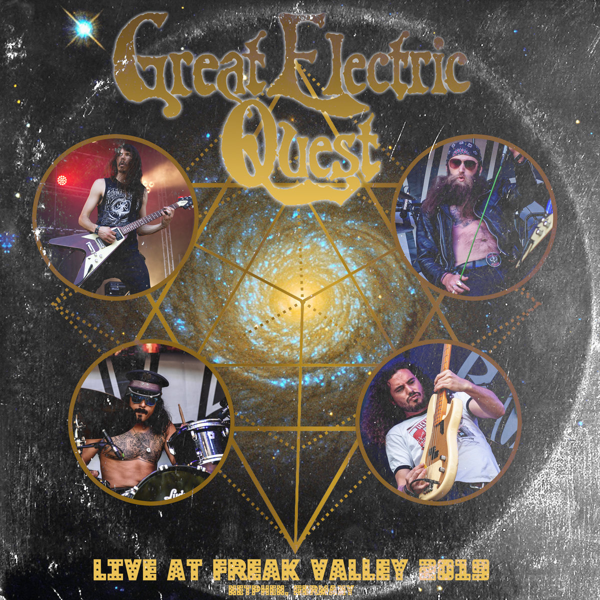 """Reseña: GREAT ELECTRIC QUEST.- """"Live at Freak ValleyFestival"""""""