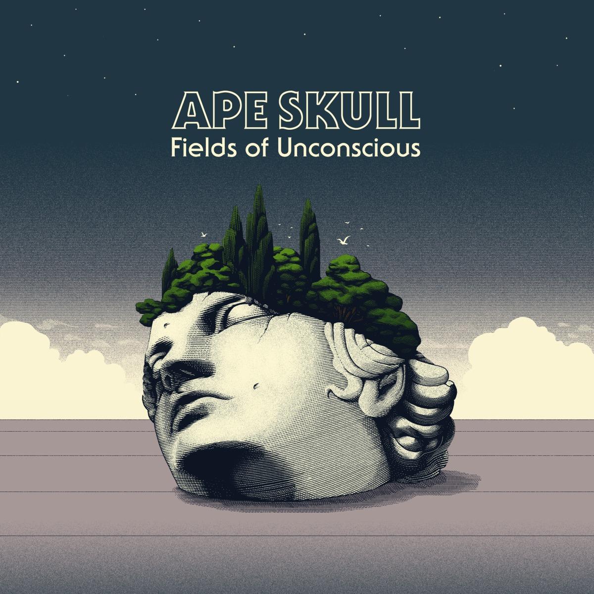 """Premiere, entrevista (español-english) y reseña del nuevo álbum de APE SKULL """"FIELDS OF UNCONSCIOUS"""""""