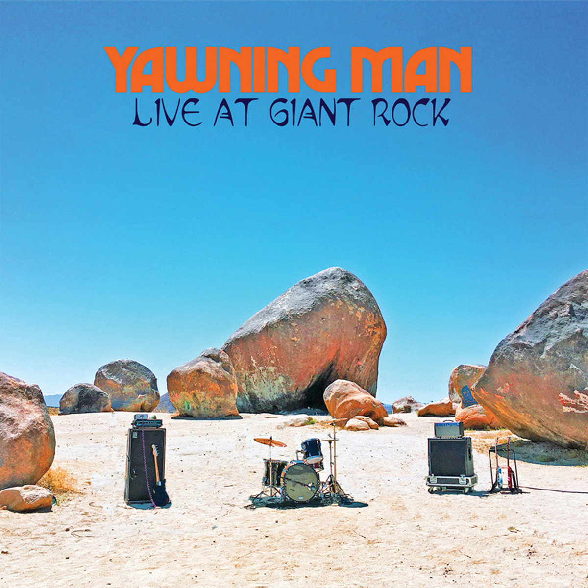"Reseña: YAWNING MAN.- ""Live at Giant Rock"""