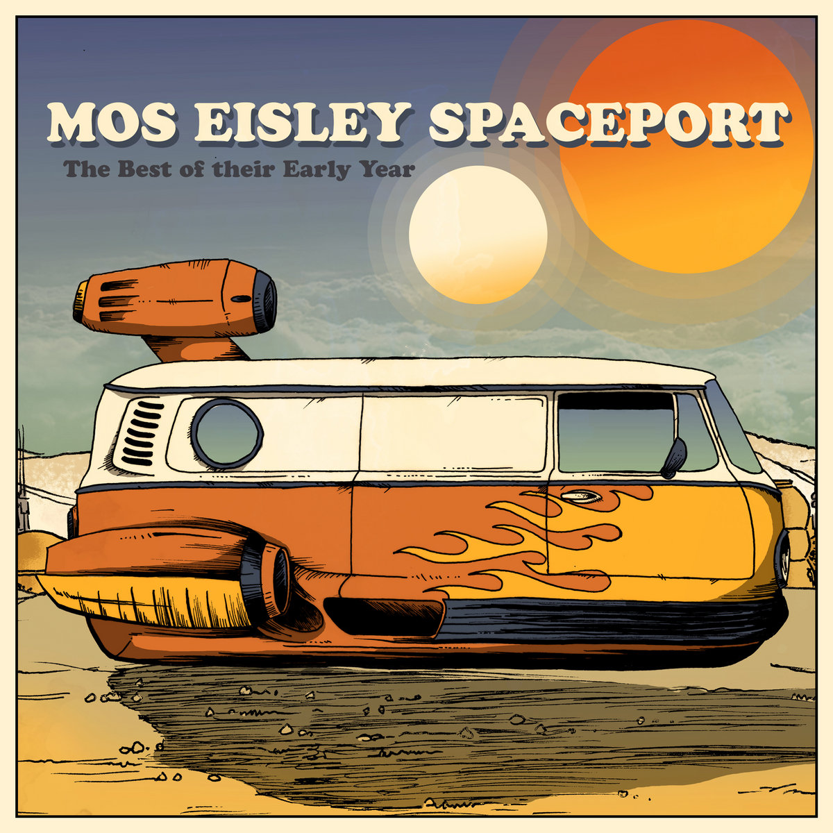 Reseña: MOS EISLEY SPACEPORT.- 'The Best of their Early Year'