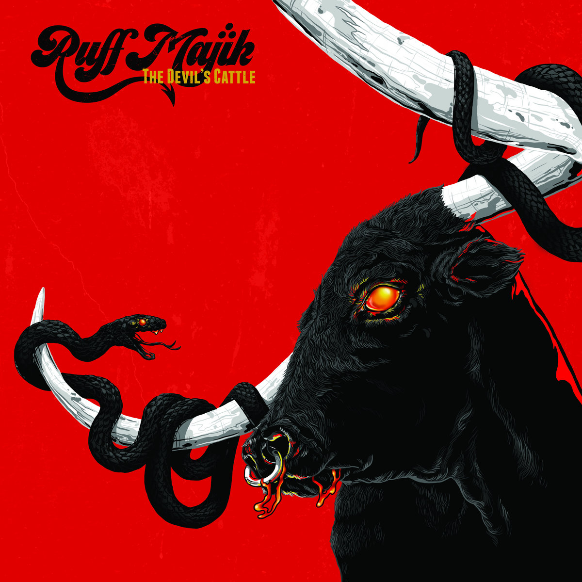 Reseña: RUFF MAJIK.- 'The Devil's Cattle'