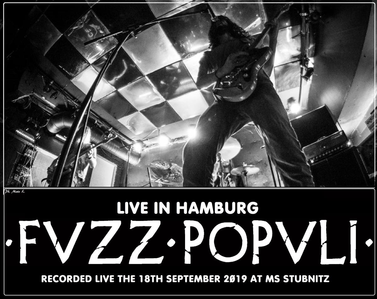 FVZZ POPVLI nos anuncia su primer álbum en directo 'Live inHamburg'