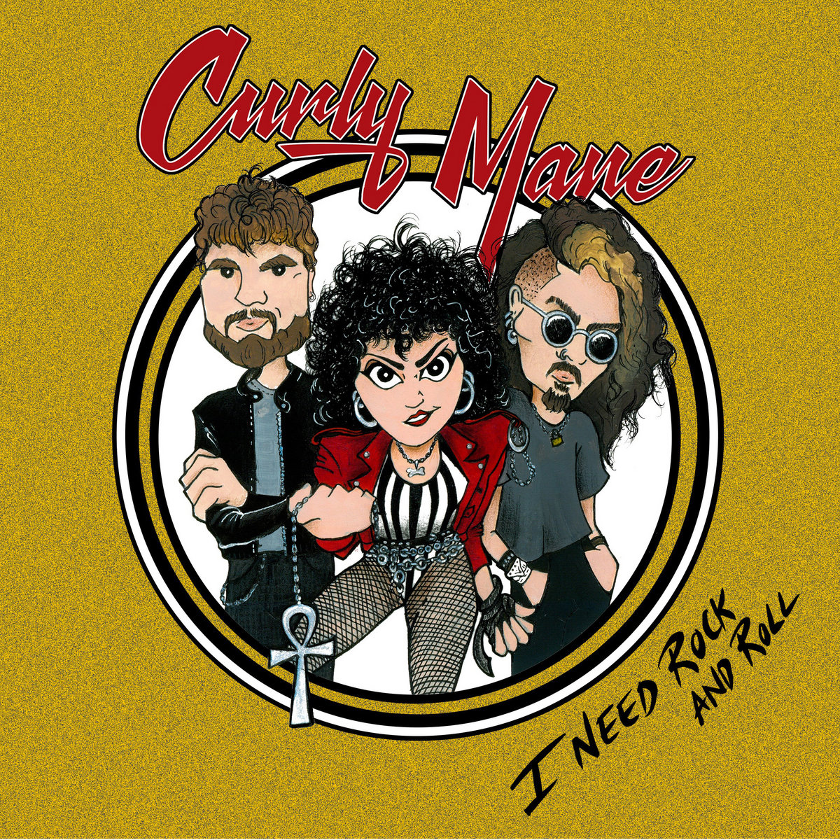 Reseña: CURLY MANE.- 'I need rock androll'