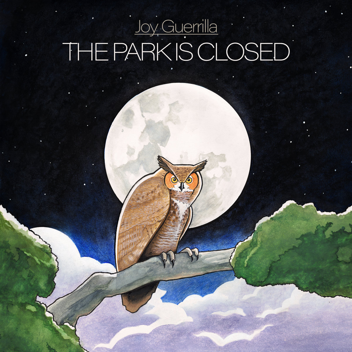 Reseña: JOY GUERRILLA.- 'The Park Is Closed'