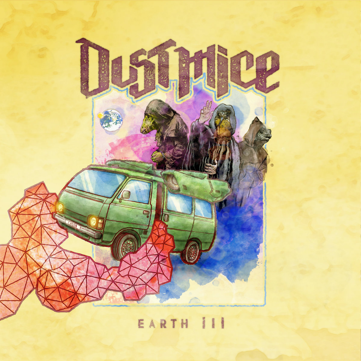 Reseña: DUST MICE.- 'Earth III'