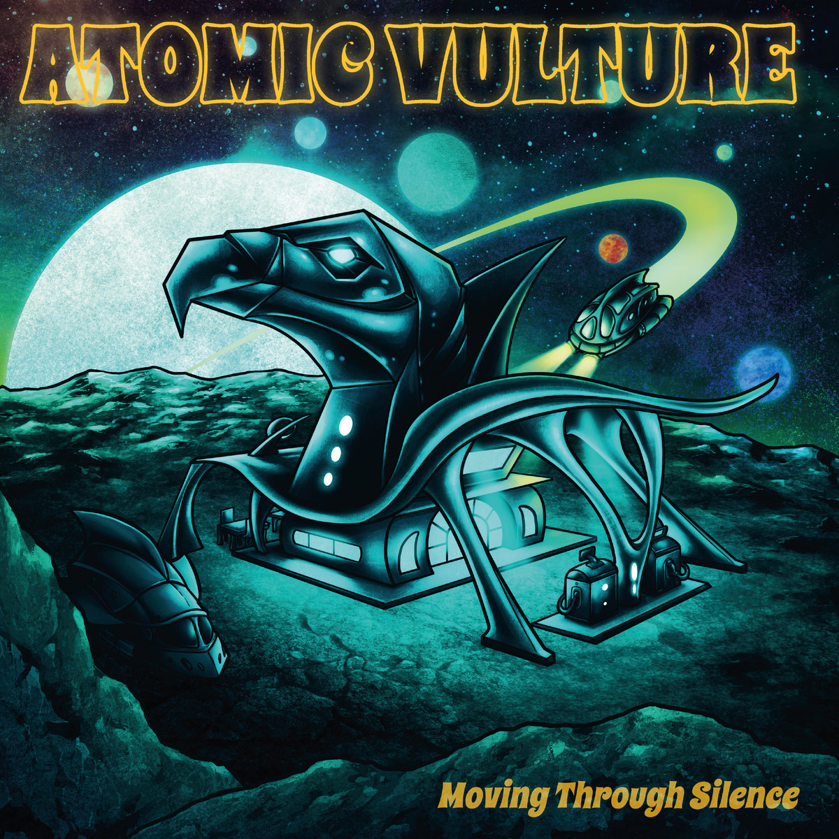Reseña: ATOMIC VULTURE.- 'Moving ThroughSilence'