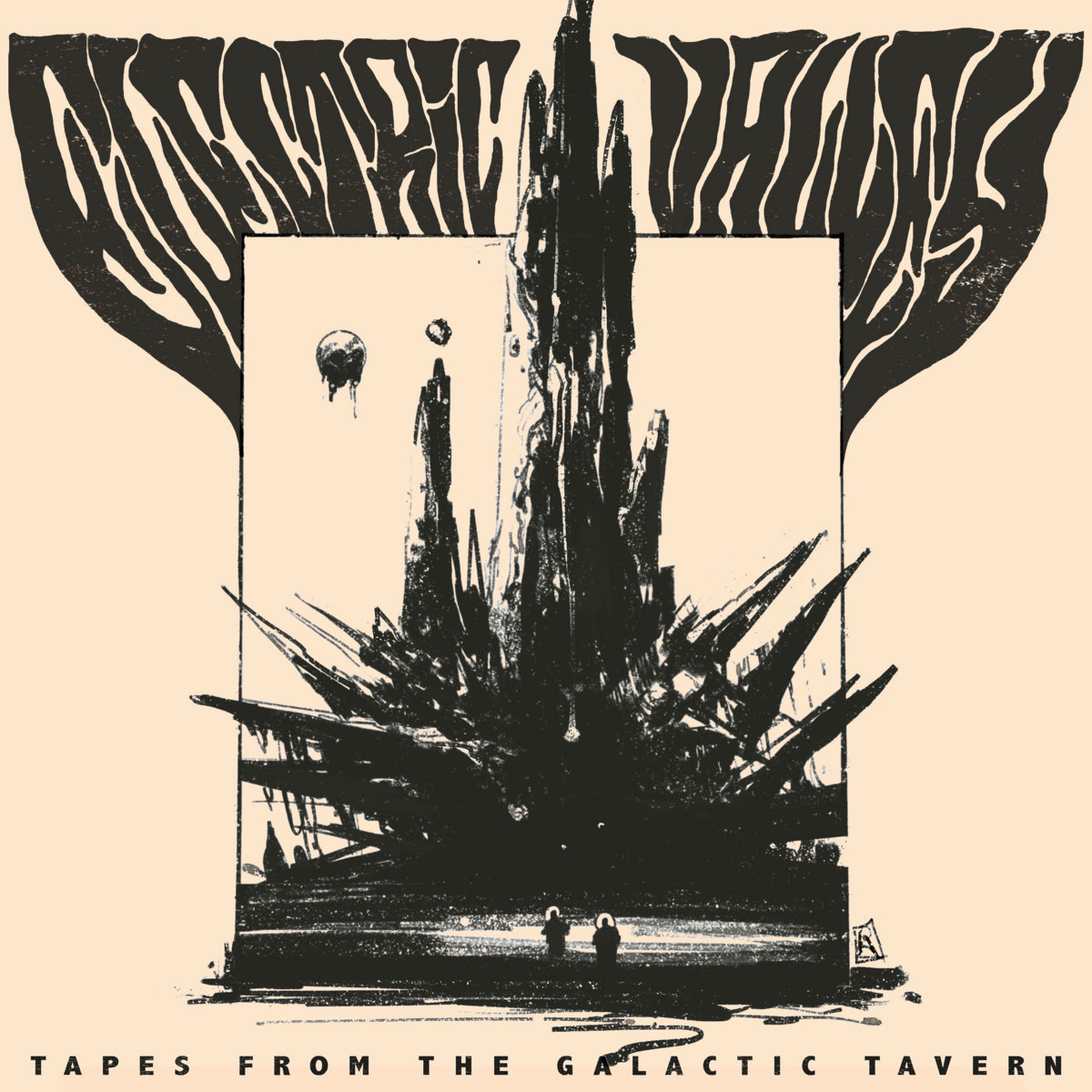 Reseña: ELECTRIC VALLEY.- 'Tapes From The GalacticTavern'